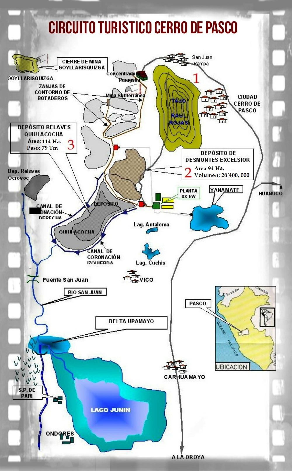 Circuito Turistico Ayacucho : Cerro de pasco circuito turístico la ultima reyna