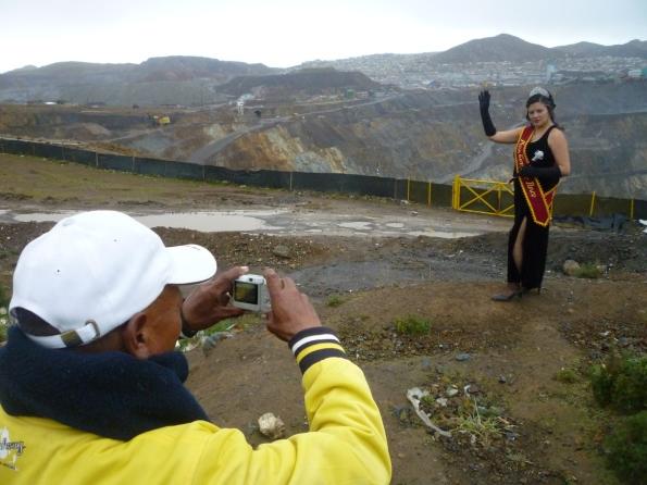 Tajo abierto de Cerro de Pasco