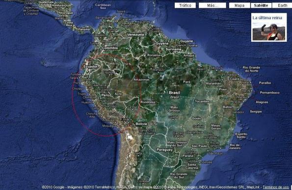 Perú en Sudamérica