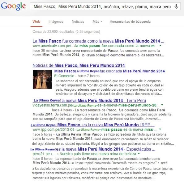 Miss Peru Mundo 2014